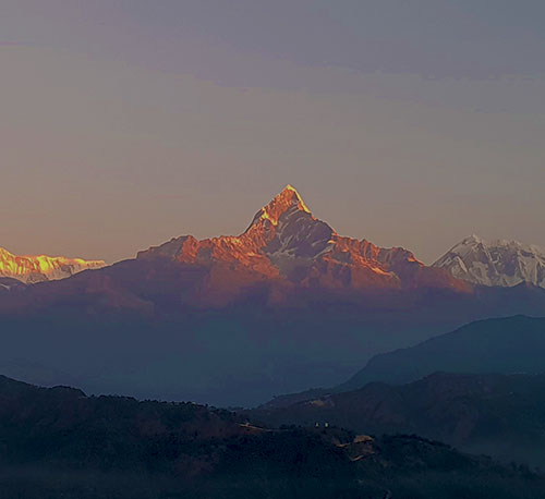 A view from Pokhara.
